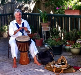 elaine leeder drumming