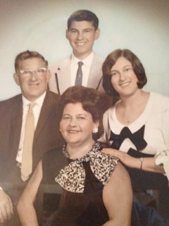 Sneierson family photo 1960